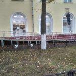 Ограждения пандуса в Ярославле