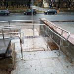 Ограждения пандуса из нержавеющей стали Москва, Владимир, Вологда, Ярославль