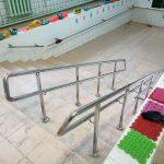 Поручни из нержавеющей стали для детского сада