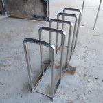 Велосипедная парковка из нержавеющей стали