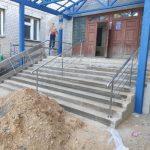 Пандус для коляски с лестницы