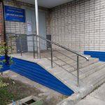 перила для лестницы нержавеющие