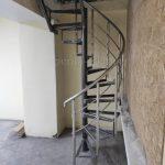 ограждения спиральной лестницы в офисе, Вологда