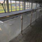 ремонт ограждений с каленым стеклом